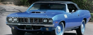 1971 Plymouth Hemi Cuda Convertible Can Fetch $4 Million
