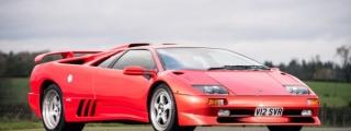 1999 Lamborghini Diablo SV Up for Auction
