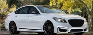 2015 Hyundai Genesis R-Spec Rendered with Borrowed Features