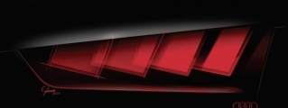 Audi Concept with OLED Lights Teased for IAA