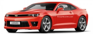 An Early Look at 2016 Chevrolet Camaro