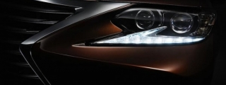 2016 Lexus ES Teased with Super Weird Headlights