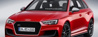 2017 Audi RS4 Avant Imagined with New Grille and Aero Parts
