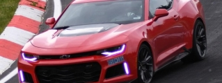 2017 Camaro ZL1 Official Nurburgring Time: 7:29.6