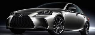 Official: 2017 Lexus IS Facelift