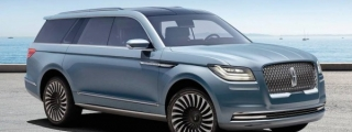 2017 Lincoln Navigator Concept Unveiled at NYIAS