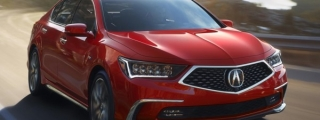 Official: 2018 Acura RLX
