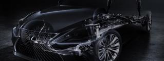 2018 Lexus LF Teased for Detroit Debut