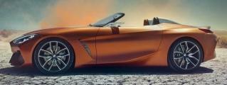 2019 BMW Z4 (Pebble Beach Concept) Leaks Online
