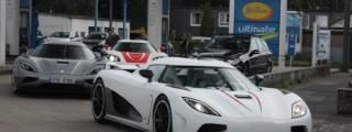 Epic Spot: 3x Koenigsegg in Germany