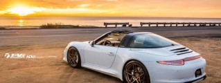 TAG Motorsport Porsche 911 Targa Beach Photoshoot