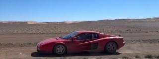 2000-Mile Sahara Adventure in a Ferrari Testarossa!