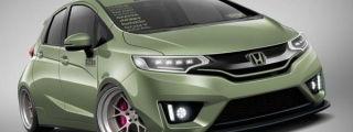 SEMA Preview: Tjin Edition Honda Fit Wide Body