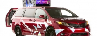 Toyota Lineup at 2014 SEMA Show