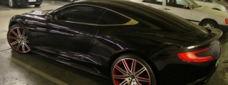 Sight to Behold: Aston Martin Vanquish on Vellano Wheels