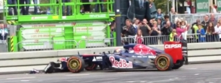 16 Year Old Max Verstappen Crashed F1 Car Showing Off!