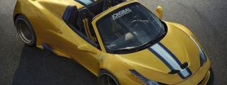 The Want Is Strong with This Wide Body Ferrari 458 Aperta
