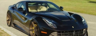 ADV1 Ferrari F12 Returns with New Rims