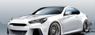 SEMA Preview: ARK Performance Genesis Coupe