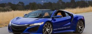 Rendering: Acura NSX Spider