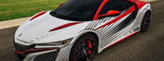 Acura NSX Pikes Peak Pace Car Revealed