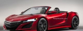 Fantastic Acura NSX Roadster Renders Emerge