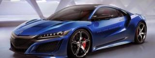 Rendering: Acura NSX Type R
