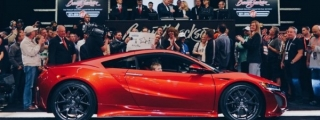 First 2017 Acura NSX Sells for $1.2 Million