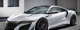 Virtual Tuning: Acura NSX by Jon Sibal