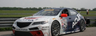 Acura TLX GT Race Car Gears Up for Mid-Ohio Debut