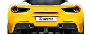 Akrapovic Ferrari 488 GTB Exhaust System Detailed