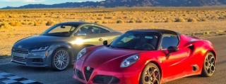 Alfa Romeo 4C vs Audi TT - Which Is Better