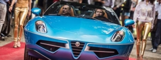 Sights and Sounds: Alfa Romeo Disco Volante Spyder