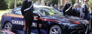 Alfa Romeo Giulia QV Police Car Delivered to the Carabinieri