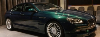Another Alpina B6 at BMW Abu Dhabi - This Time in Emerald Green
