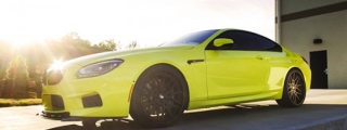 Ambulance Yellow BMW M6 by DRM Motorworx