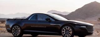 Aston Martin Lagonda Rendered as Pickup Truck!