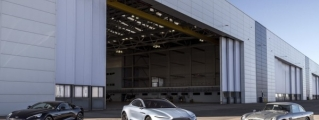 Aston Martin Begins Building New Factory in St Athan