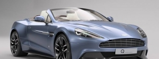 Aston Martin Vanquish Volante Inspired by AM37 Boat