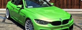 Apple Green BMW M4 Looks Tasty!