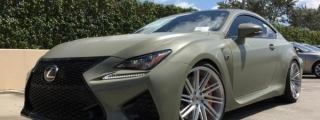 Army Green RC F Is Our Kind of Lexus