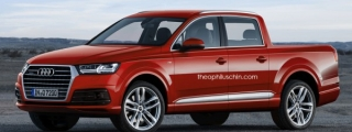 New Audi Q7 Rendered as a Pickup Truck