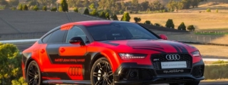 Near-Production Audi RS 7 Piloted Driving Tested at Sonoma