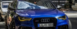 Unbelievably Handsome Audi RS6 Spotted in Monaco