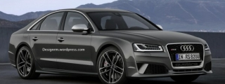 Muscular Audi RS8 Speculatively Rendered