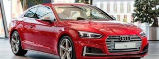 Up Close with Tango Red Audi S5 Coupe Exclusive