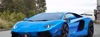 Lamborghini Aventador with PUR Aero Kit by SR Auto