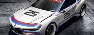 BMW 3.0 CSL Hommage Rendered in M Livery