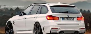 Rendering: BMW M3 Touring