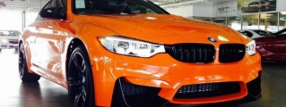 BMW M4 Lime Rock Edition Discovered in Dallas